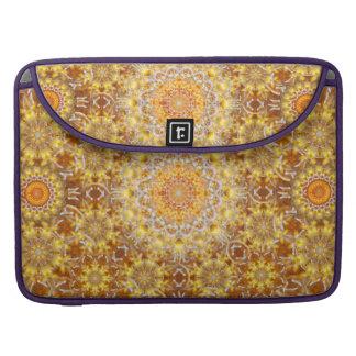Golden Visions Mandala Sleeves For MacBooks