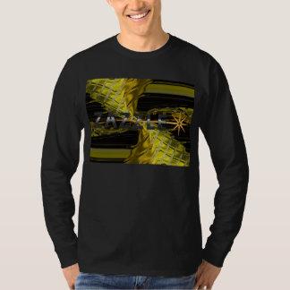 Golden Vortex T-Shirt