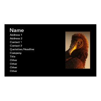 Golden Vulture Business Card Template