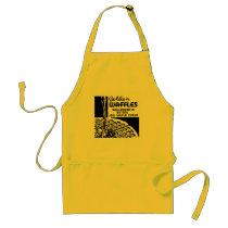 Golden Waffles Breakfast Adult Apron