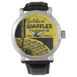 Golden Waffles Breakfast Wristwatch