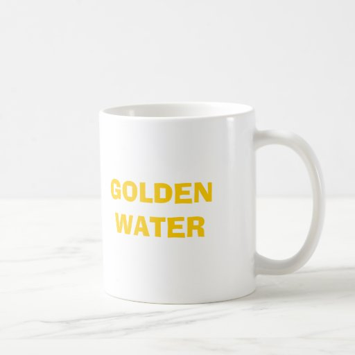 GOLDEN WATER MUGS