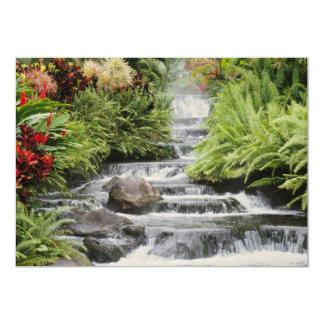 Golden Waterfall Card