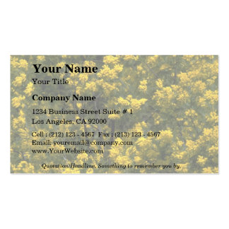 Golden wattle Double-Sided standard business cards (Pack of 100)
