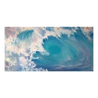 GOLDEN WAVE CUSTOMIZED PHOTO CARD