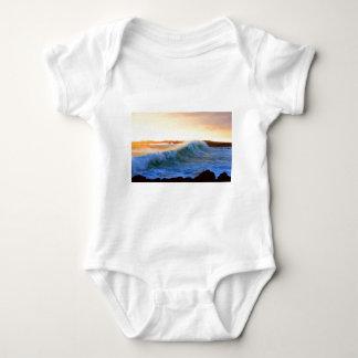 Golden waves sunset coast Galapagos Islands Shirt