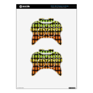Golden Weave Xbox 360 Controller Decal