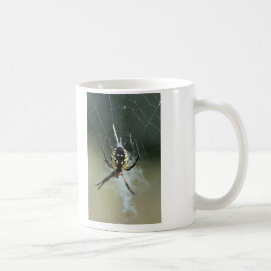 Golden Weaver Spider Coffee Mug