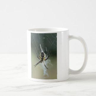 Golden Weaver Spider Classic White Coffee Mug