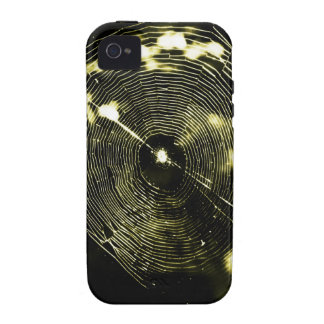 Golden Web Case For The iPhone 4