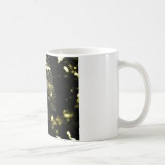 Golden Web Classic White Coffee Mug