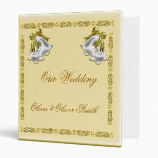 Golden Wedding 3 Ring Binder