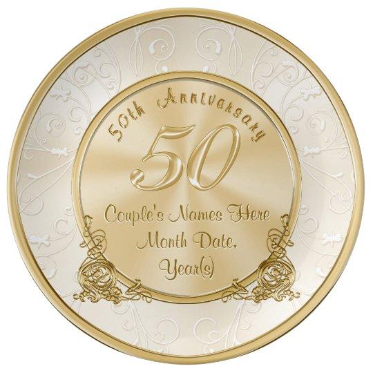 Unique Golden Wedding Anniversary Gifts: Husband 45th Wedding Anniversary Personalized Gift
