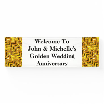 Professional Business Golden wedding anniversary special | Personalize Banner