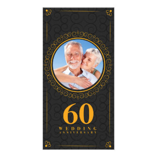 Golden wedding anniversary template personalized