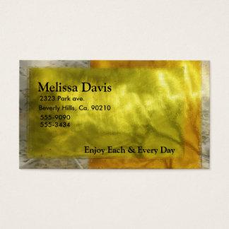 Golden Wedding Celebration Business Card