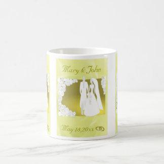 Golden Wedding Favor Coffee Mug