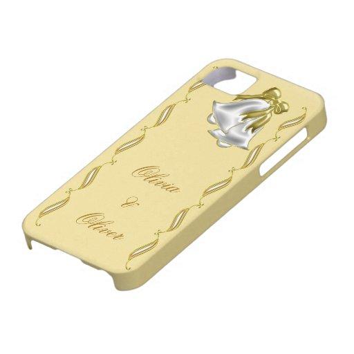 Golden Wedding iPhone 5 Case