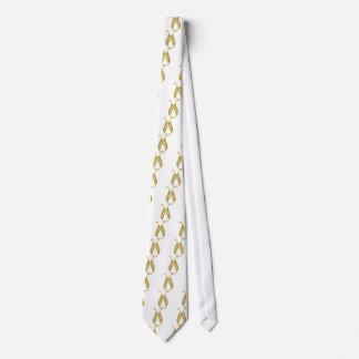 Golden Wedding Neck Tie