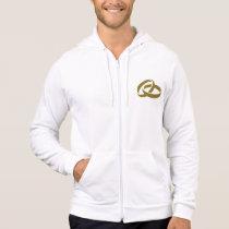 Golden wedding rings hoodie