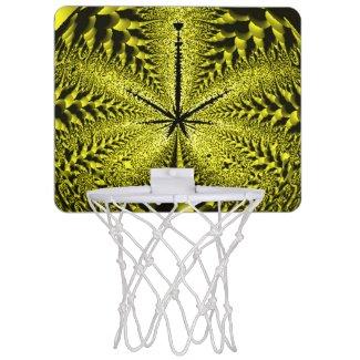 Golden Weed Mini Basketball Hoops