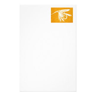 """""""Golden Wet Fly"""" Trout Fly Stationery"""