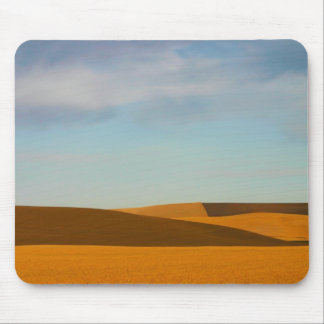 Golden Wheat Fields in Palouse Region Mouse Pad