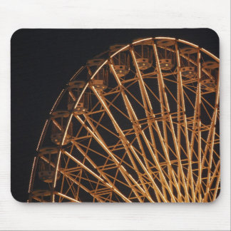 Golden Wheel Mouse Pad