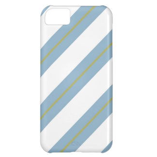 Golden,White and Light Steel Blue iPhone 5 Cover