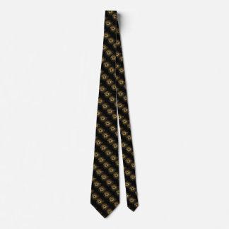 Golden Widget Tie