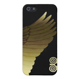 Golden Wing iPhone 5 Case