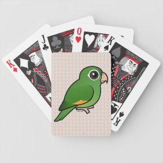 Golden-winged Parakeet Bicycle Playing Cards