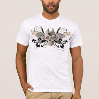 Golden Winged Skull – 4 T-Shirt