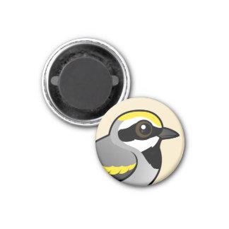 Golden-winged Warbler Fridge Magnet