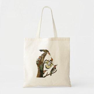 Golden-winged Woodpecker Audubon Birds of America Tote Bag
