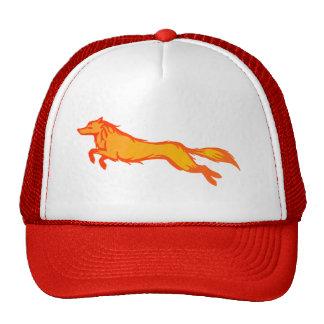 Golden Wolf Trucker Hat