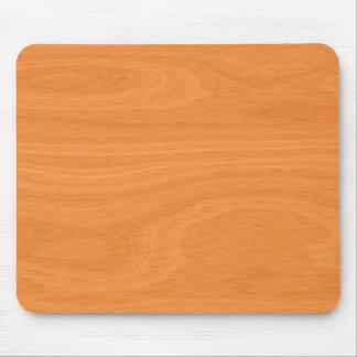 Golden Woodgrain Texture Mouse Pad