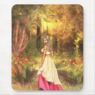Golden Woodlands Mouse Pad