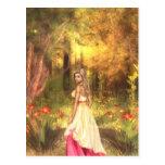 Golden Woodlands Postcard