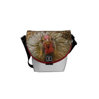 Golden Wynadotte Hen - Beautiful Chickens Messenger Bag