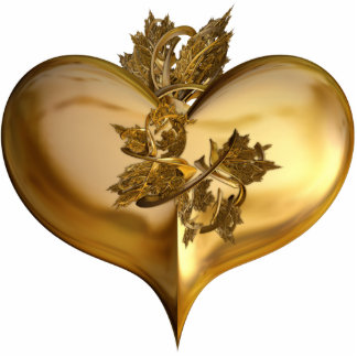 Golden Years Heart Cutout