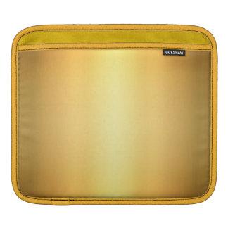Golden Yellow Abstract, iPad Mini Horizontal Case