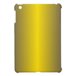 Golden Yellow and Navy Blue Gradient Cover For The iPad Mini