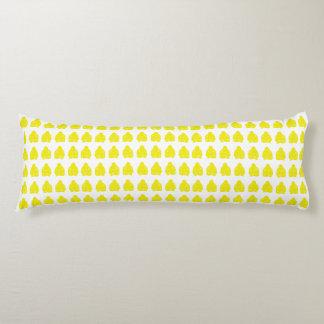 Golden Yellow Asian Moods Buddah Boys Body Pillow