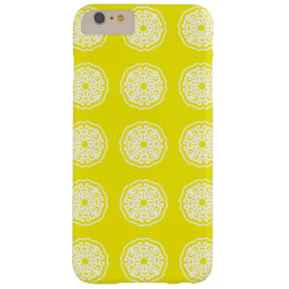 Golden Yellow Asian Moods Mandalla Barely There iPhone 6 Plus Case