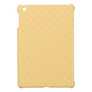 Golden Yellow Circles Pattern iPad Mini Cases