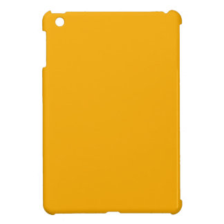 Golden Yellow Customizable Color Only Products Cover For The iPad Mini