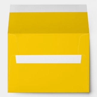 Golden Yellow Envelope