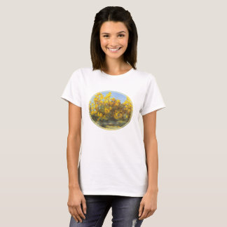 Golden Yellow Fall Trees T-Shirts