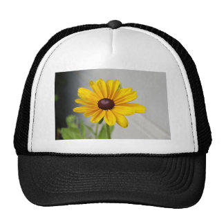Golden Yellow Flower Trucker Hat